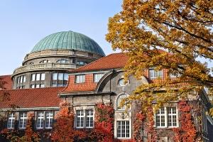 University Hamburg, main building. Photo: UHH/Schell
